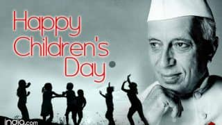 Happy Children's Day 2016: All you need to know about why we celebrate Pandit Jawaharlal Nehru's birthday as childrens day