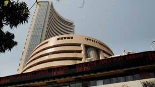 Sensex rebounds 390 pts, Nifty hits 8,500 on global cues