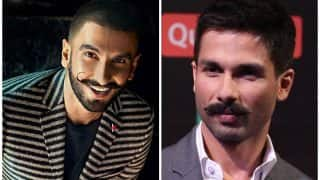Here's what Ranveer Singh has to say on working with Shahid Kapoor in Padmavati