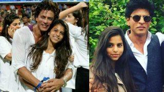 बेटी सुहाना को 'किस' करने वाले शख्स के होंठ चीर देना चाहते हैं शाहरुख ख़ान