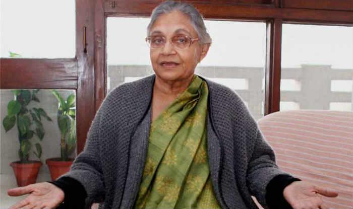 Former CM Sheila Dikshit Appointed as New Delhi Congress Chief