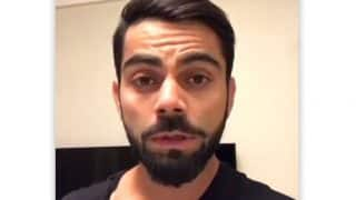 Virat Kohli makes appeal to Delhi residents amid rising pollution levels