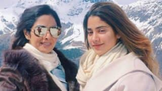 Oops! Sridevi wants daughter Jhanvi Kapoor to set eyes on Bollywood and not boyfriends