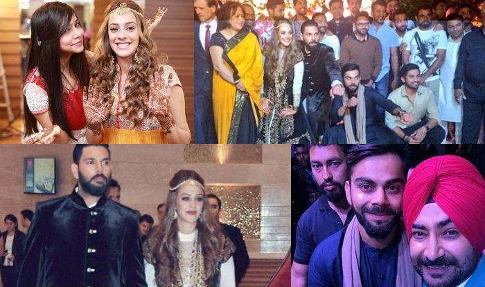 Yuvraj Singh-Hazel Keech wedding