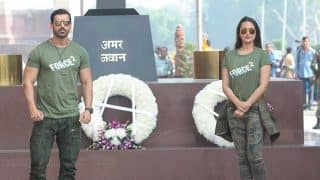 Force 2: John Abraham and Sonakshi Sinha pay tribute to the jawans at India Gate!
