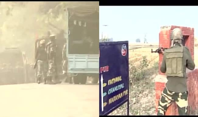 Jammu and Kashmir: Terror attack near army camp in Nagrota