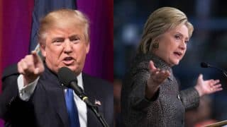 Donald Trump, Hillary Clinton supporter canvass for their candidates