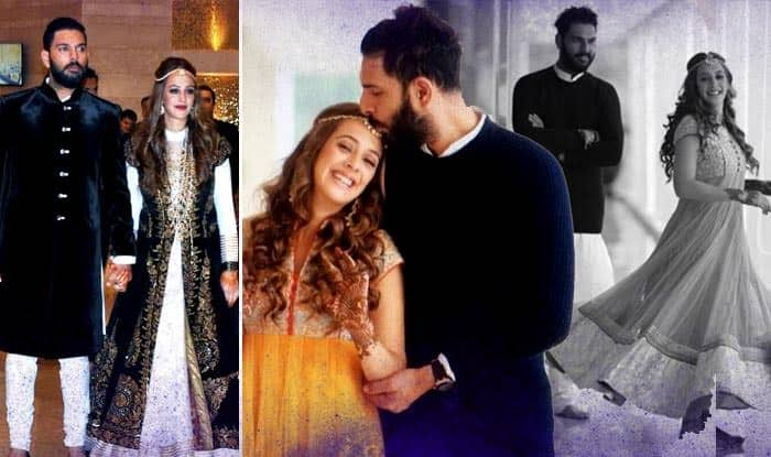 Yuvraj Singh and Hazel Keech pre-wedding pictures: Check Indian cricketer's beautiful Mehendi and Sangeet pics before the new innings!