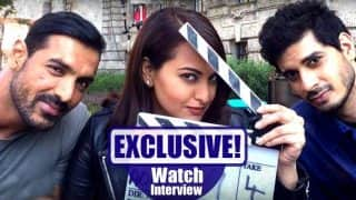 Force 2: Exclusive chat with John Abraham, Sonakshi Sinha and Tahir Bhasin! (Watch video)
