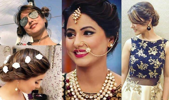 Yeh Rishta Kya Kehlata Hai actress Hina Khan is giving her fans brand new hair styling goals!