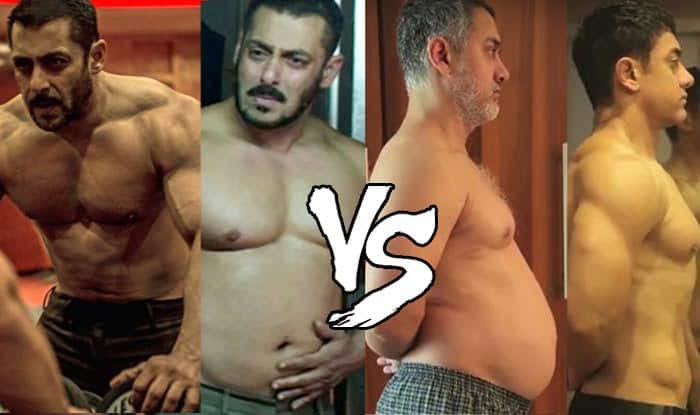VOTE! Aamir Khan's body transformation in Dangal or Salman Khan's metamorphosis in Sultan: Which is sexier?