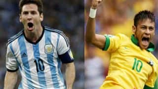 Brazil vs Argentina Live Streaming & Preview: Watch online telecast of FIFA World Cup Qualifiers 2018 on Sonyliv.com
