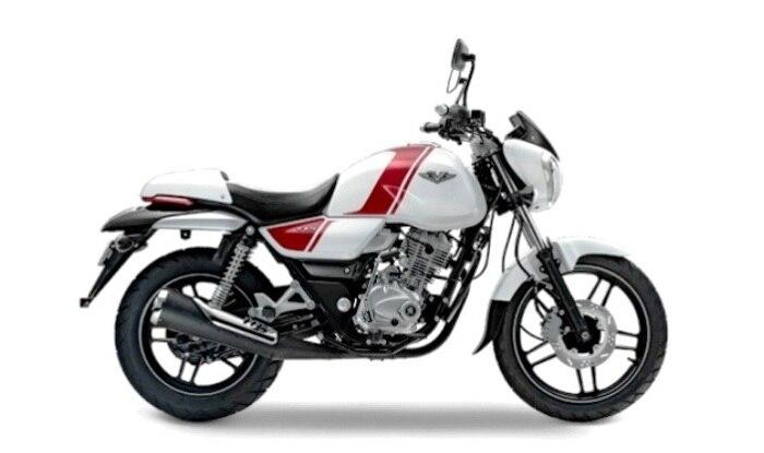 Bajaj V12 Pearl White