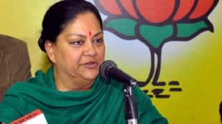 Despite challenges Rajasthan continues to progress: Vasundhara Raje