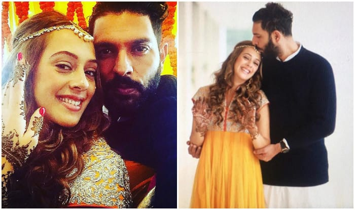 Yuvraj Singh shares image of his mehendi ceremony