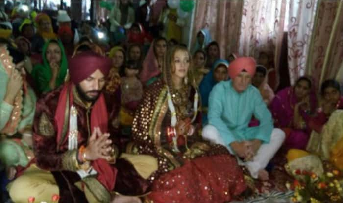 yuvraj singh and hazel keech wedding