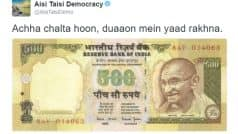 Twitter, Whatsapp erupt with jokes as Rs 500, Rs 1000 lose their sheen!