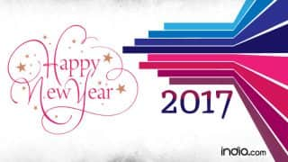 Happy New Year Wishes in English: New Year WhatsApp Status, Facebook Messages, Quotes, Gif Images & Memes to Wish Happy New Year 2017!