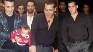 ALL Inside Pics: Salman Khan plays Iulia Vantur's song at his 51st birthday party and gives her a perfect return gift!