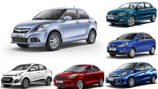Best of 2016: India's Top 6 Compact Sedans