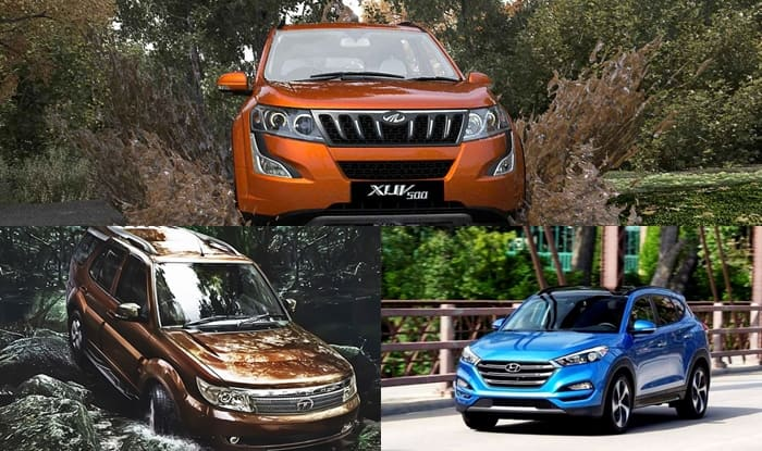 top 3 mid size suv of 2016 on sale in india. Black Bedroom Furniture Sets. Home Design Ideas