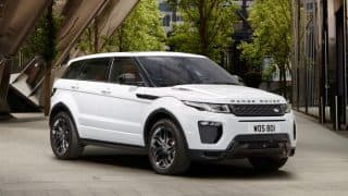 Land Rover Range Rover Evoque 2017 launched in India; Priced at INR 49.10 lakh