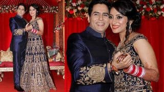 CONGRATULATIONS! Bigg Boss ex contestant Aman Verma ties knot with his long time girlfriend Vandana Lalwani! (View Pictures and Video)