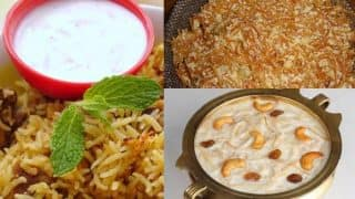 Eid-e-milad 2016: Top 7 traditional cuisines that is just perfect for Eid-ul-milad!