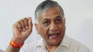 V K Singh Denies Calling Yogi Traitor For 'Modiji ki Sena' Comment