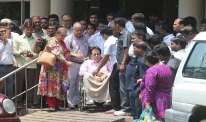 Dilip Kumar hospitalised after swelling in leg; stable