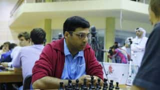 Viswanathan Anand Draws, Harika Dronavalli Wins in Rd 2 of IOM International Chess
