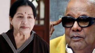 DMK leader M Karunanidhi condoles Jayalalithaa's death