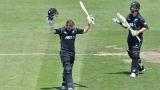 New Zealand vs Bangladesh 1st ODI: Tom Latham's century lifts Kiwis to 341-7