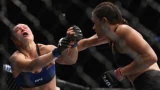 UFC 207: Ronda Rousey's UFC return lasts just 48 seconds, knocked out by Amanda Nunes