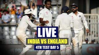 India won by an inns & 36 runs | India vs England Live Cricket Score 4th Test Day 5 in Mumbai: ENG 195/10