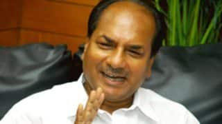 AK Antony Suffers Minor Brain Haemorrhage, Admitted to Ram Manohar Lohia Hospital