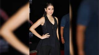 Anushka Sharma's chic black number at Stardust Awards 2016 is our new favorite thing