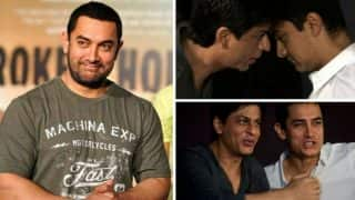 Dangal: Aamir Khan & Shah Rukh Khan to share stage for Dhaakad song – 3 times when the two Khans came together