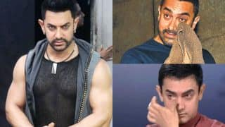 Dangal movie star Aamir Khan might appear Dhaakad but he is a cry baby!