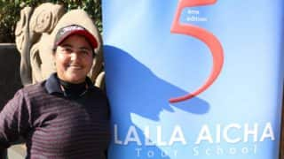 Amandeep Drall takes a share of lead at Lalla Aicha Ladies European Tour Qualifying School