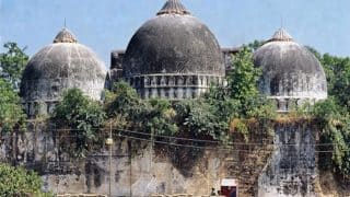 Ram Mandir-Babri Masjid Dispute: Supreme Court to Resume Hearing in Ayodhya Case Today