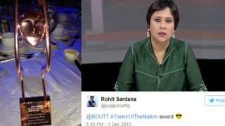Barkha Dutt dedicates Asian TV Award 2016 to trolls; gets exposed and bashed on Twitter in return