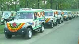 Hyderabad: Health Minister C Laxma Reddy inaugurates '102-Vehicle Services' for pregnant women
