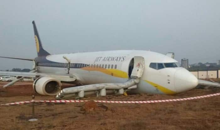 Jet Airways Flight 9W 2374 Skids Off Runway 15 Passengers Injured AAIB To P
