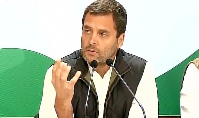 Rahul Gandhi demands loan waiver for farmers, tax waiver for traders & wage hike for MGNREGA workers
