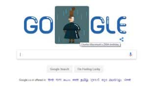 Charles Macintosh chemist's Google Doodle marks raincoat inventor's 250th birth anniversary