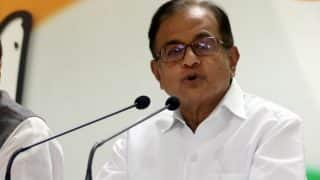 NDA is in Denial Mode on Economic Situation, Says Congress Leader P Chidambaram