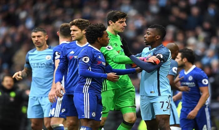 Luiz puts Aguero clash down to 'quite normal frustration' on striker's part