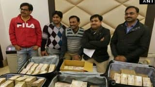 IT, Crime Branch seize Rs 3.25 crore in old notes from Delhi hotel, 5 detained