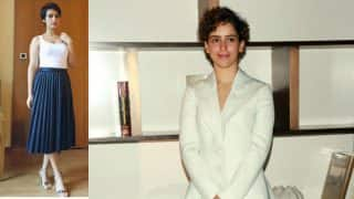 Dangal girls Fatima Sana Shaikh and Sanya Malhotra are giving us dressy style lessons!